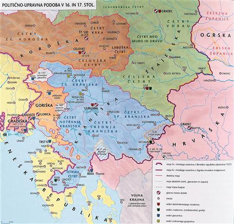 Podoba naše dežele pred pol tisočletja