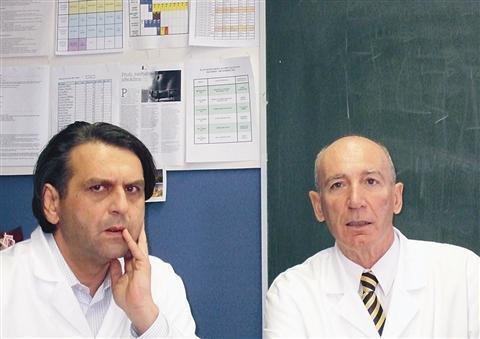 Zoran Miloševič (levo) in Miro Denišlič pravita, da doslej ni bilo nobenih zapletov