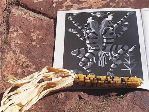 Koshare, sveti klovni  Indijancev Pueblo