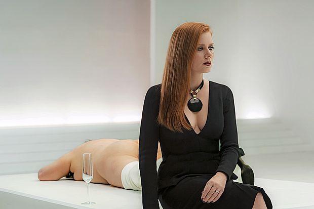 Amy Adams je z vlogo poslovno uspešne galeristke, a  zasebno zelo nesrečne ženske, ponovno dokazala svoj  nesporni igralski talent.