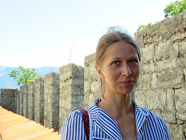 """Maruša Ličen: """"Tisti, ki smo rasli in živeli tu, smo  imeli grad nenehno pred očmi. Morda smo ga zato  jemali za preveč samoumevnega."""""""