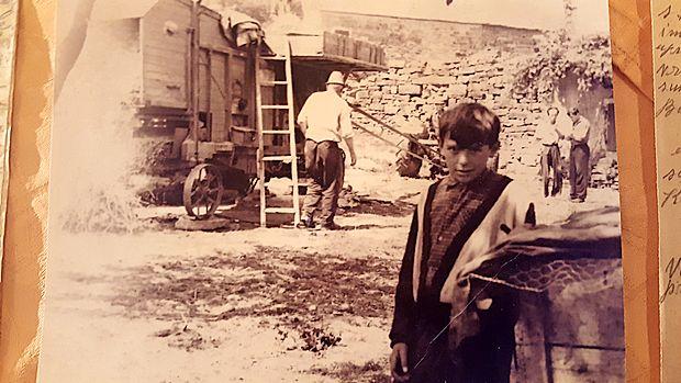Ko je konec petdesetih let v Gradin prihajala skupna mlatilnica, je bil vselej praznik.
