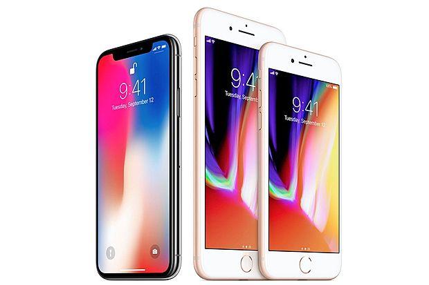 Applova najnovejša pametna mobilna telefona iphone 8 in  iphone 8 Plus prihajata v petek tudi v Slovenijo.