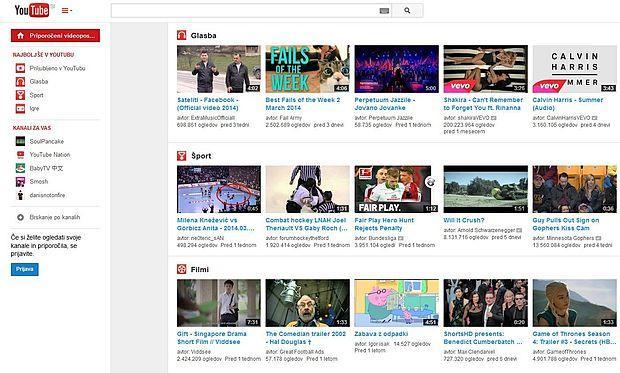 Storitev Youtube TV bo vključevala tudi vsebine, ki jih na  portalu Youtube objavljajo uporabniki.