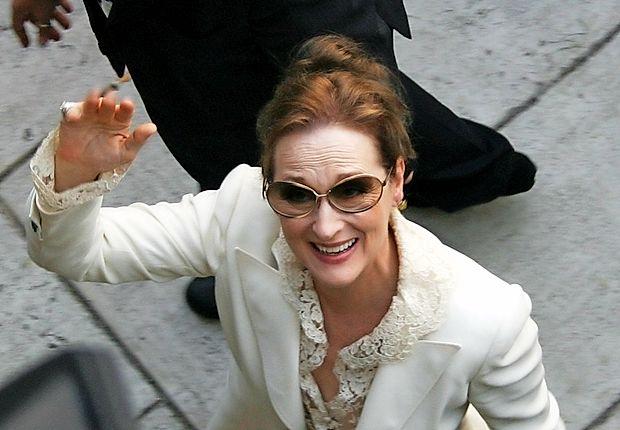 Meryl Streep je v svoji dolgoletni karieri prejela osem zlatih  globusov.