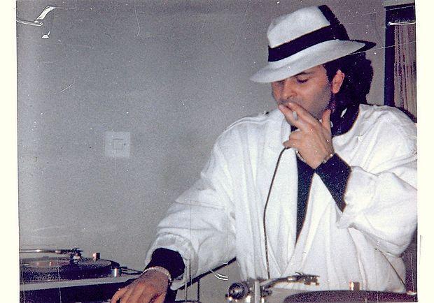DJ Dejan Nastič nekoč