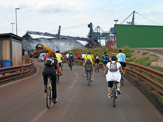 Luko Koper si bo mogoče ponovno ogledati tudi s kolesom.