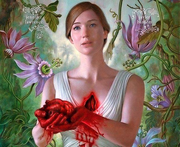 Plakat za najnovejši film Darrena Aronofskyja Mother!.