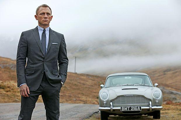 Daniel Craig bo še petič stopil v čevlje Jamesa Bonda.