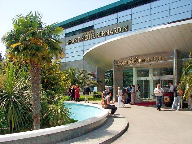 Čisti dobiček v prvih sedmih mesecih leta je v Hotelih  Bernardin znašal 720.000 evrov.