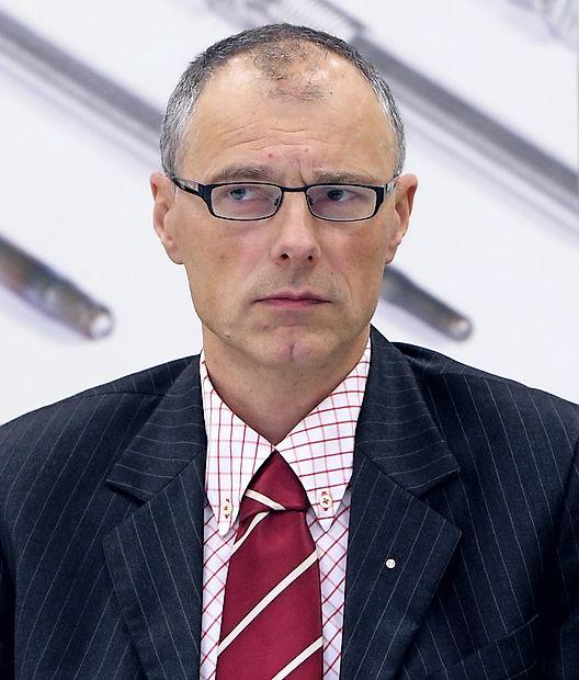 Predsednik poslovodnega odbora in izvršni direktor Hidrie Iztok Seljak