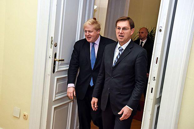 Boris Johnson in Miro Cerar