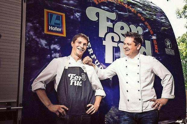Mitja Horvat  (levo), FerFud chef 2015