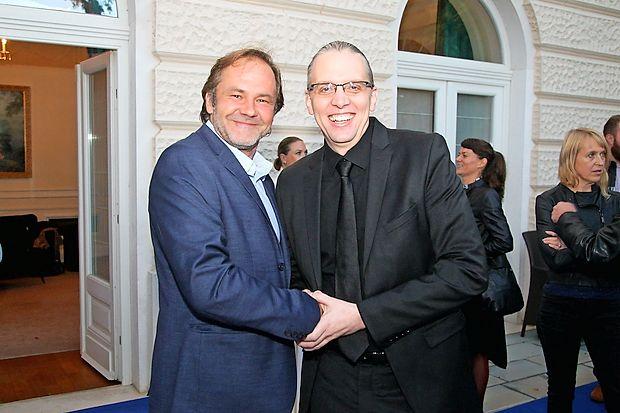 Jure Ivanušič in Marko Naberšnik