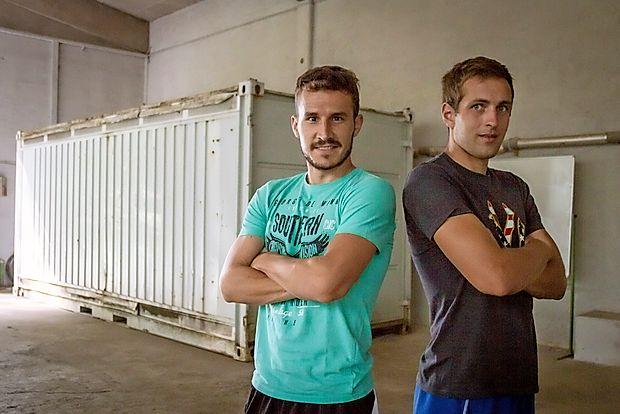 Matej Vinkovič in Jaka Brdnik