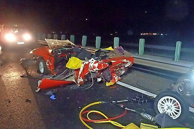 25. decembra lani  se je na hitri cesti med Koprom in Bertoki  zgodila  prometna  nesreča,  v  kateri  sta  bila  udeležena dva  osebna avtomobila.