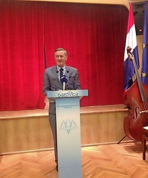 Slavnostni nagovor ministra Gorazda Žmavca