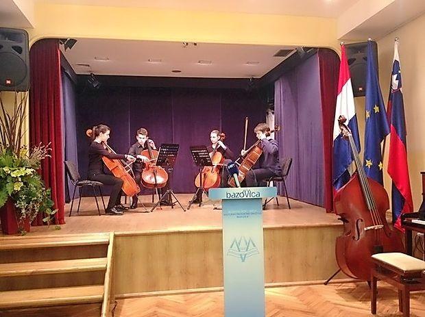 Nastop učencev Glasbene šole Ivana Matetića Ronjgova  Reka