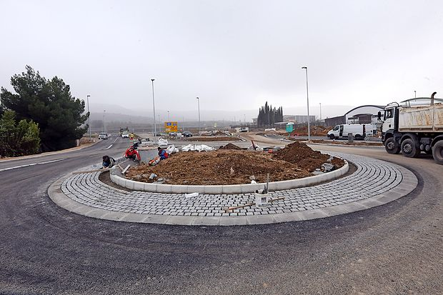 Novo krožišče pri izolski Komunali bodo odprli jutri ob 12.  uri.