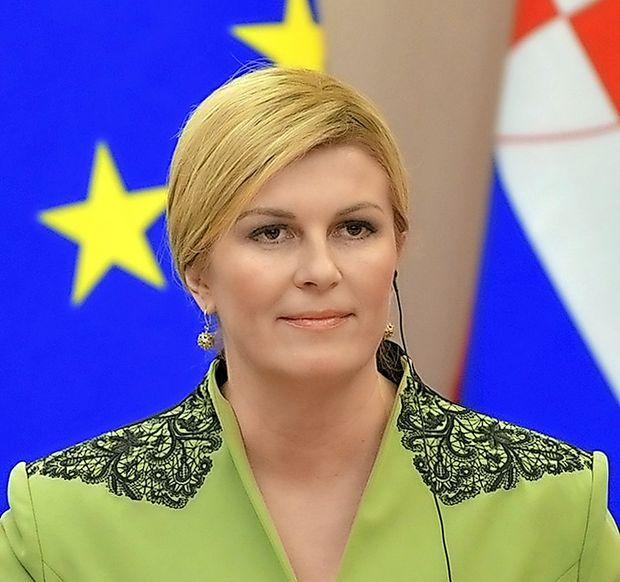 Hrvaška predsednica Kolinda Grabar-Kitarović
