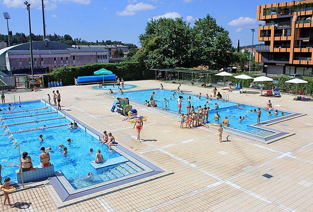 Novogoriški bazen privablja tudi vse več obiskovalcev iz  sosednje Gorice.