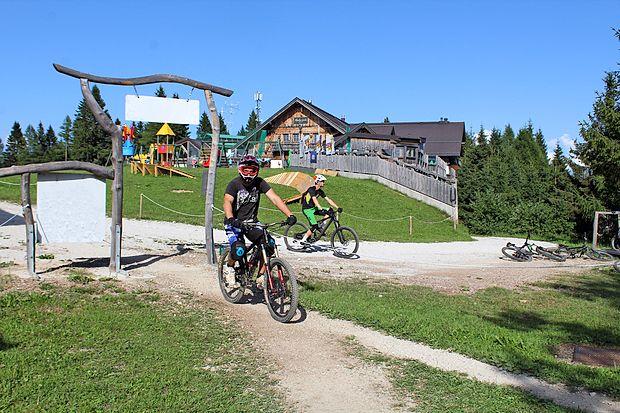 V kolesarskem parku, ki ta vikend gosti pokal v spustu, je na  voljo množica prog.
