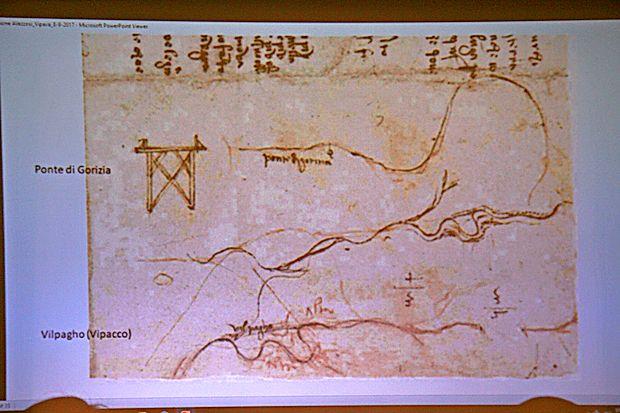 Dokument, ki izpričuje, da je veliki genij  poznal Vipavo.