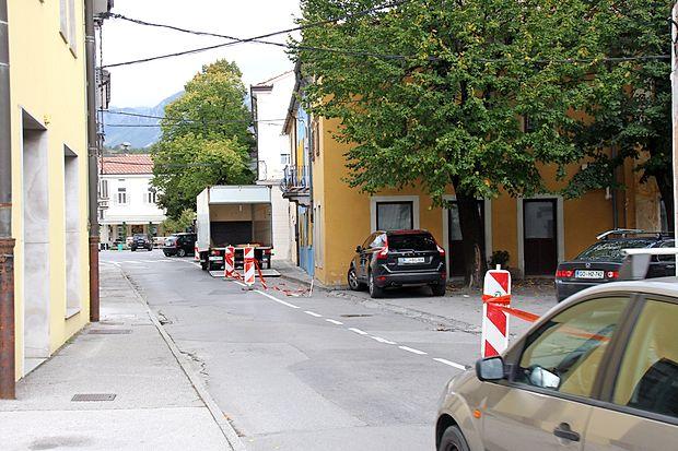 Celovito prenovo mestnega jedra bodo predvidoma začeli v  Prešernovi ulici ...