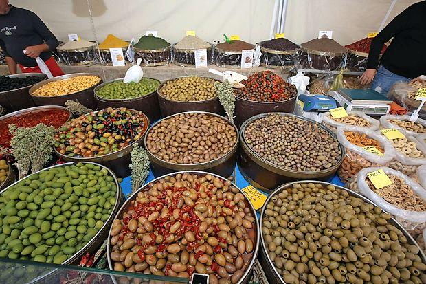 Del predstavljenega kulinaričnega bogastva italijanskih pokrajin.