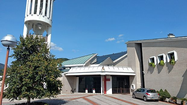 Cerkev Kristusa Odrešenika letos praznuje 35 let od izgradnje.