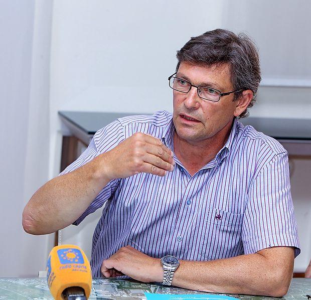 Izolski župan Igor Kolenc