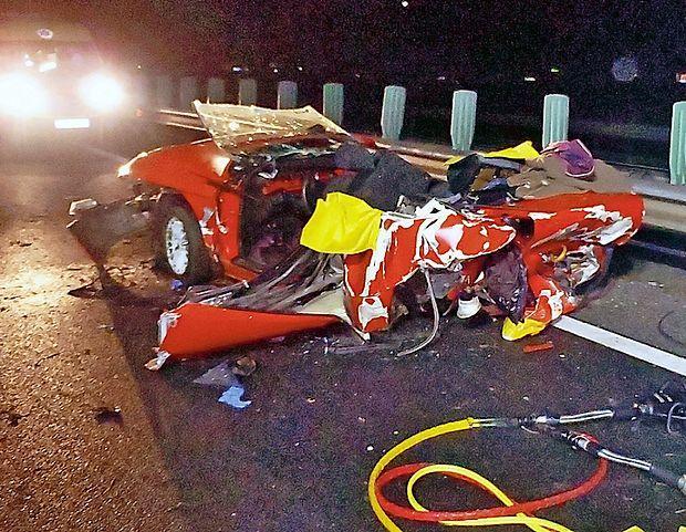 Policisti so vso krivdo za tragično nesrečo zadnje dni  lanskega leta pripisali prehitremu 24-letnemu Koprčanu.
