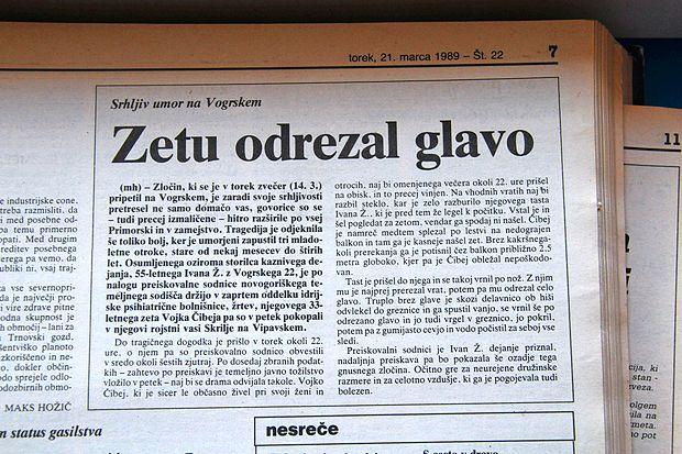 Na Vogrskem se ob podobnih tragedijah, kot sta se zgodili v  Izoli in v Lukovcu, spomnijo na umor, ki se je v njihovi vasi  zgodil leta 1989.