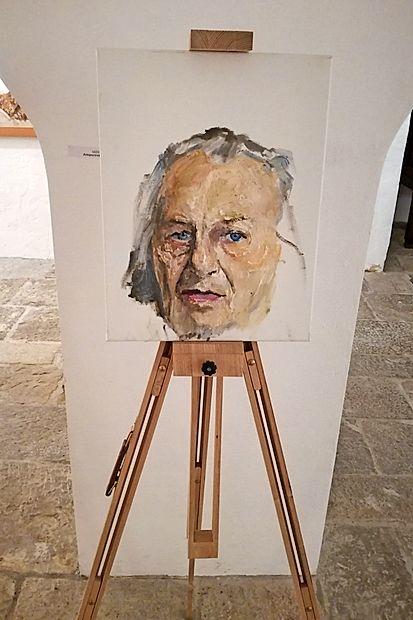 Zadnji od  1700 Zupetovih  portretov, nastal prejšnji  mesec, je  avtoportret.