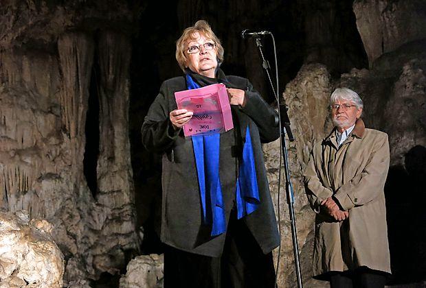Dubravka Ugrešić je v zahvalnem govoru ostro opisala naš hrupni čas protislovij.