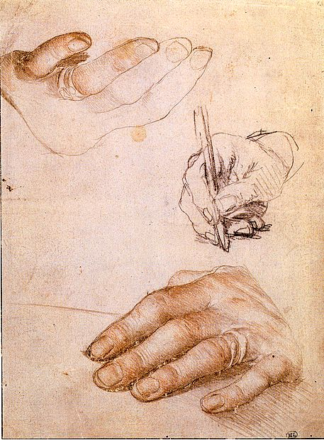 Vabilo na kolokvij so organizatorji opremili s skico Študija Erazmovih rok,  ki jo je  Hans Holbein mlajši narisal okrog leta 1523, lani pa jo je Facebook  prepovedal, ker jo je njegova tehnologija prepoznala kot obsceno.