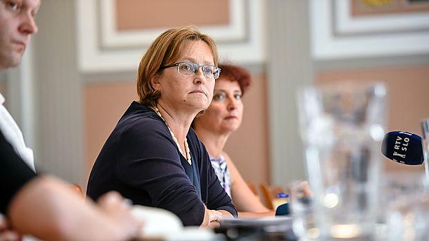 """Mateja Vraničar Erman: """"Demografski sklad mora biti pomemben dodaten vir za financiranje pokojninske blagajne."""""""
