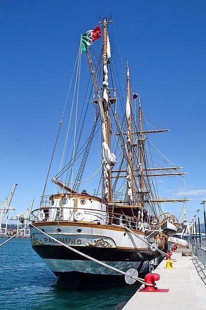 69 metrov dolga in deset metrov široka ladja doseže  hitrost  osem vozlov (15 kilometrov na uro) in premore tri kovinske  jambore (najvišji meri 35 metrov), na katerih je 15 jader.