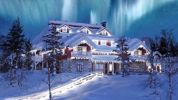 Puhasta snežna odeja se na Laponskem obdrži več kot 250  dni v letu!