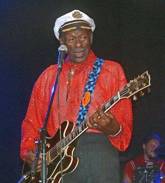 Chuck Berry je leta 2005 nastopil tudi v Zagrebu.