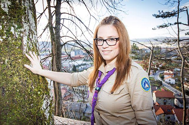 Nina Kapelj, najmlajša osebnost Primorske doslej