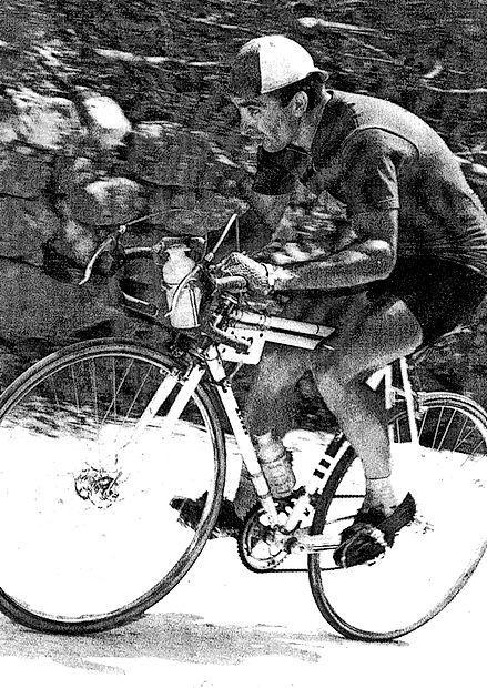 Alojz Bajc je bil specialist za vožnjo navkreber.
