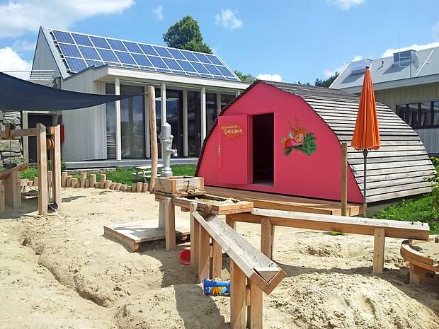 Vrtec za otroke zaposlenih so postavili tik ob novi restavraciji