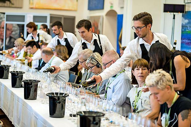 Na degustacijo rebul v Vipolže so povabili vrhunske tuje in  domače vinske pisce.