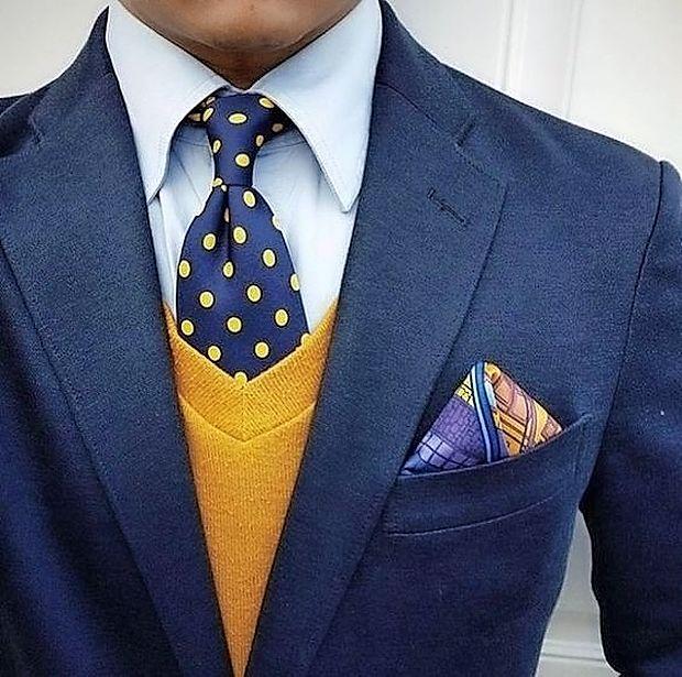 Rumena eleganca po moško