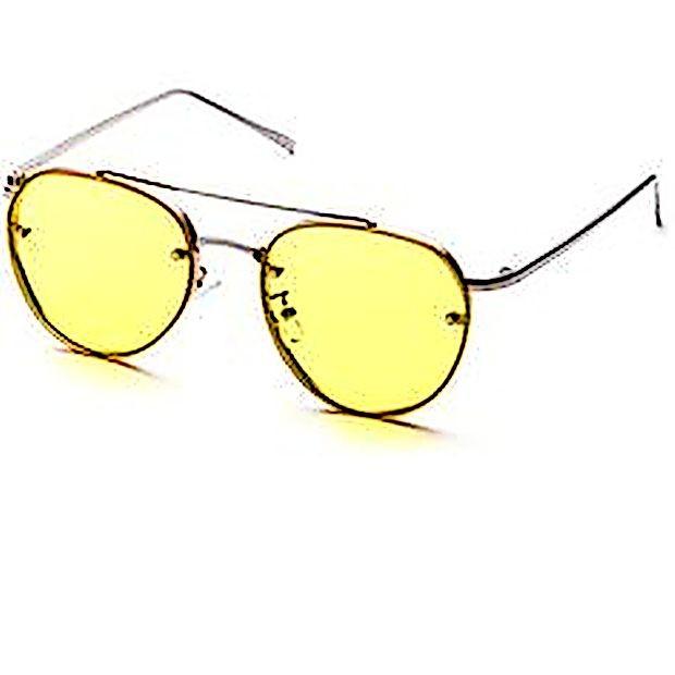 Da  bo naš pogled bolj sončen, si privoščimo  rumena  zaščitna očala.