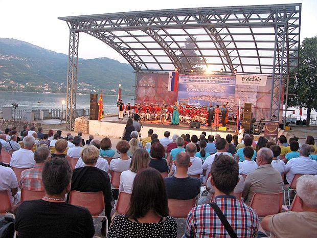 Slovenija se je tudi letos predstavila na Ohridu.