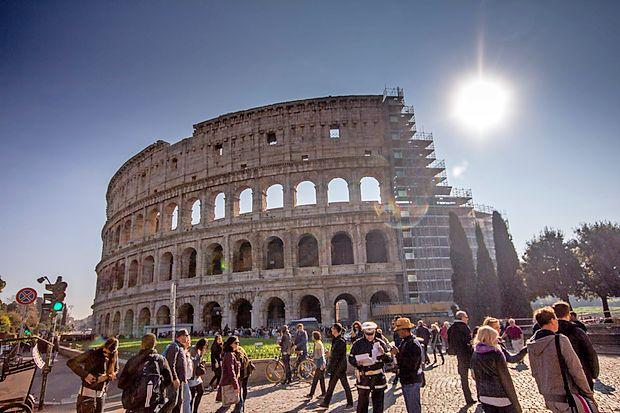 Brez obiska znamenitega Koloseja v Rimu pač ne gre.