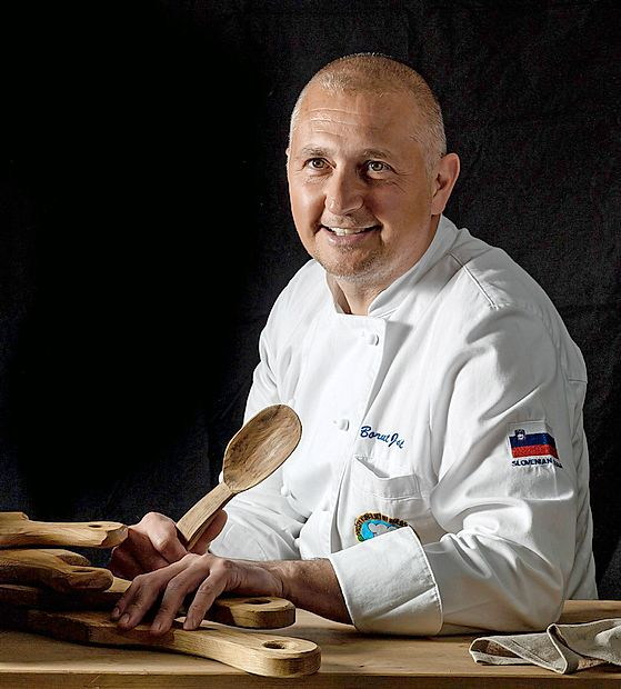 Borut Jakič je prekaljen kuharski mojster.