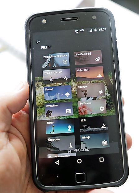 Snapseed - enostavna in hkrati profesionalna aplikacija.